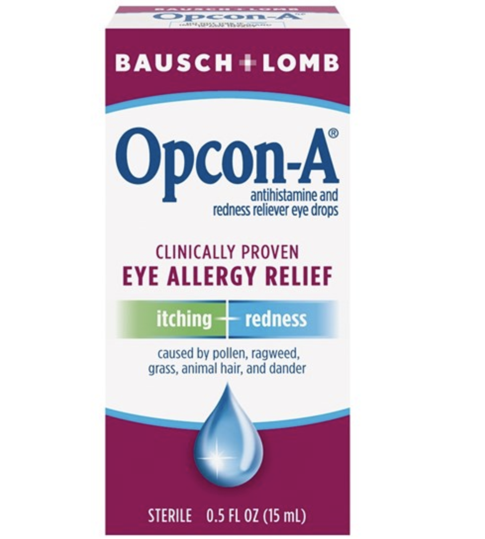 Eye Allergy Drops >> Bausch Lomp Opcon A Eye Allergy Relief Itching Redness Reliever Eye Drops 5 Fl Oz