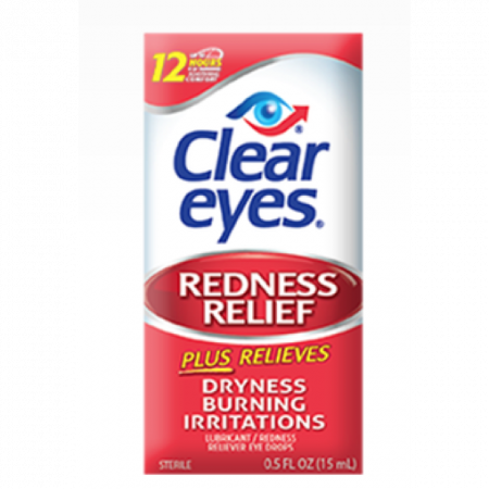 (201) CLEAR EYES REDNESS RELIEF 15ML