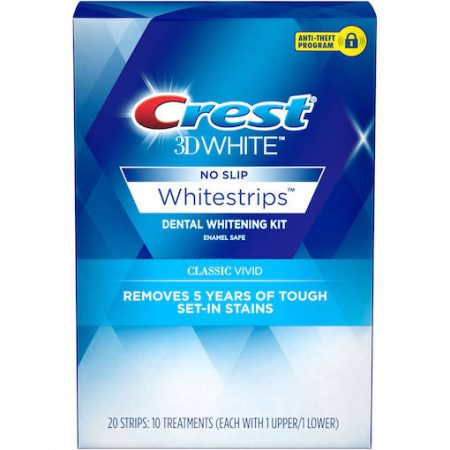 CREST 3D WHITESTRIPS CLASSIC VIVID (20)